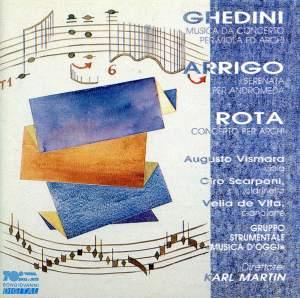 Ghedini, Arrigo & Rota: Concertos for Strings
