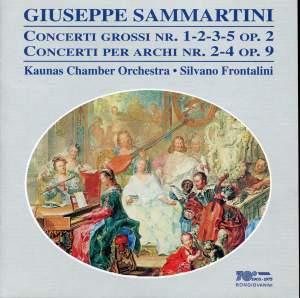 Sammartini: Concerto Grossi & Concerti per Archi