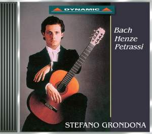 Stefano Grondona plays Guitar Works by Bach, Henze & Petrassi