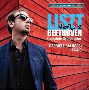 Liszt: Beethoven Complete Symphonies, Vol. 2