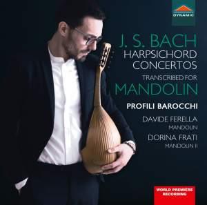 JS Bach: Harpsichord Concertos (transcribed for mandolin) Product Image