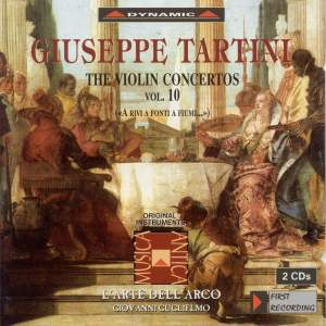 Tartini - The Violin Concertos Volume 10