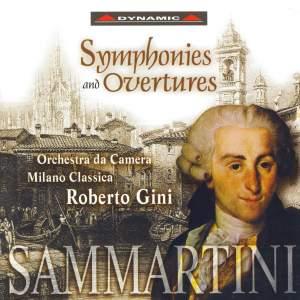 Sammartini: Symphonies and Overtures
