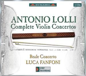 Antonio Lolli - Complete Violin Concertos