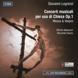 Legrenzi - Concerti musicali per uso di chiesa, Op. 1