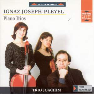 Pleyel: Piano Trios in E minor, G and D