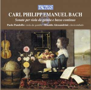 CPE Bach: Sonate per Viola da Gamba e Basso Continuo Product Image