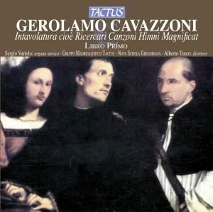 Girolamo Cavazzoni: Intavolatura, Libro Primo