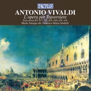Vivaldi: L'opera per Traversiere - Parte prima: RV 427, 533, 429, 440, 438, 436