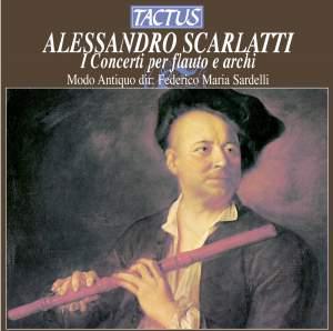 Alessandro Scarlatti: I Concerti per flauto e archi