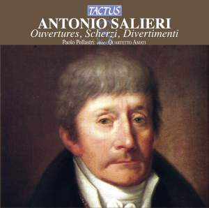 Antonio Salieri: Ouvertures, Scherzi, Divertimenti