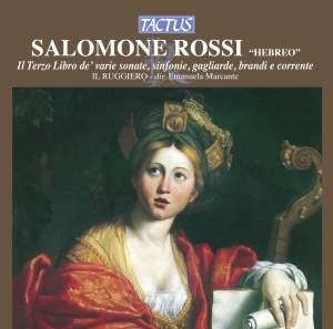 Rossi, S: Il terzo libro de varie sonate, sinfonie, gagliarde, brandi e corrente, op. 12 Product Image
