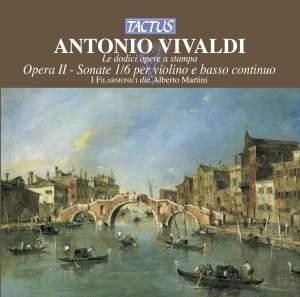 Vivaldi: Opera II - Sonate 1/6 per violino e basso continuo Product Image