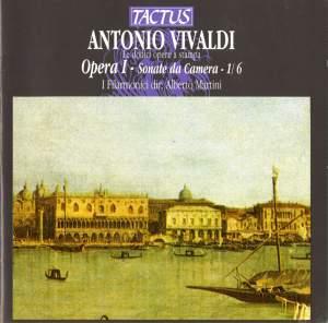 Vivaldi: Opera I - Sonate de Camera - 1/6 Product Image