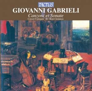 Gabrieli, G: Canzone e Sonate (1615) Product Image