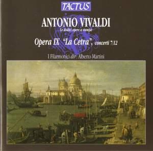 Vivaldi: Opera IX 'La Cetra', concerti 7/12 Product Image