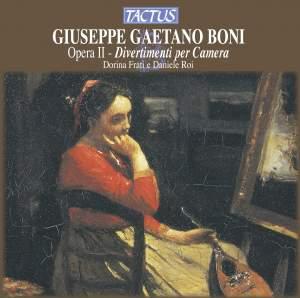Giuseppe Gaetano Boni: Divertimenti per Camera