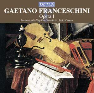 Franceschini, G: Sonatas (6) for two violins, Op. 1 Product Image