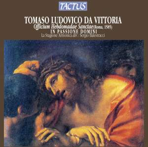 Victoria: Officium Hebdomadae Sanctae (Office for Holy Week) Product Image