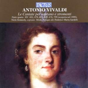 Vivaldi: Le Cantate per soprano e stromenti, Vol. 4