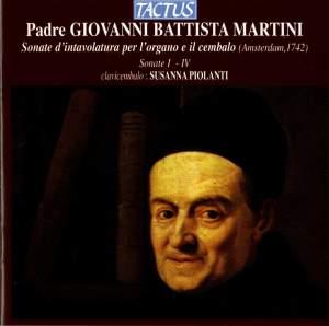 Giovanni Battista Martini: XII Sonate d'intavolatura per l'organo e il cembalo, Sonate I-IV