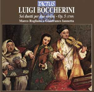 Boccherini: Six Duets for two violins Op. 5 Product Image