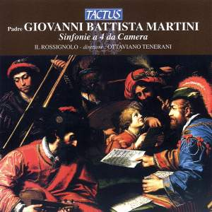 Martini, G B: Sinfonie a 4 da Camera