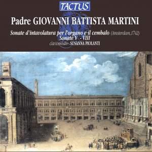 Martini: Sonate d'intavolatura per l'organo e il cembalo, Vol. 2