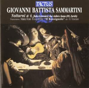 Sammartini, G B: Sonate call'd Notturni, Op. 9
