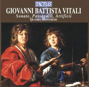 Giovanni Battista Vitali: Sonate - Passagalli - Artificii