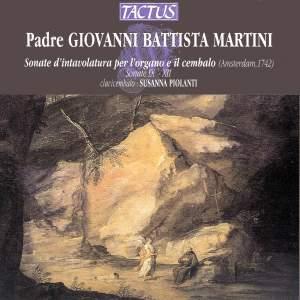 Giovanni Battista Martini: Harpsichord Sonatas 9-12