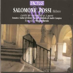 Salomone Rossi: Canti di Salomone a 3 parti