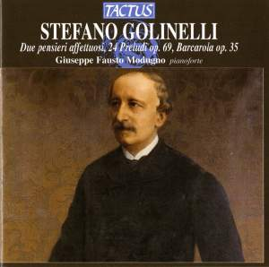 Stefano Golinelli: Piano Works Product Image
