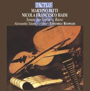 Sonatas for Violin & Bass Continuo