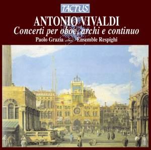 Vivaldi: Concerti per oboe, archi & continuo