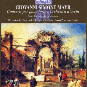 Mayr: Concertos for piano and orchestra