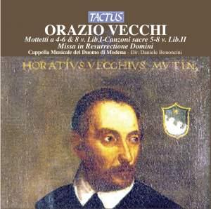 Orazio Vecchi: Missa in Resurrectione Domini & Motets Product Image
