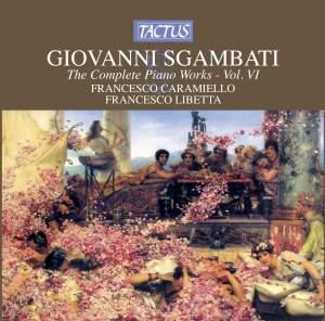 Giovanni Sgambati: Complete Piano Works, Vol. 6 Product Image