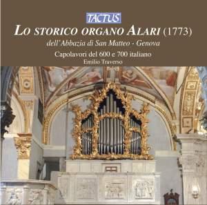 Lo storico organo Alari dell'Abbazia di San Matteo