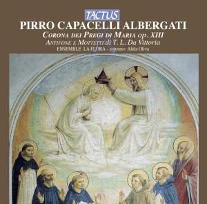 Pirro Capacelli Albergati: Corona de pregi di Maria