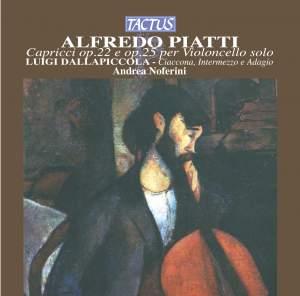 Alfredo Piatti: Capricci for solo cello Product Image