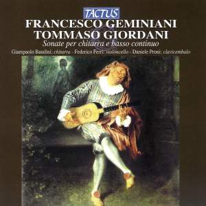 Geminiani & Giordani: Sonatas for Guitar