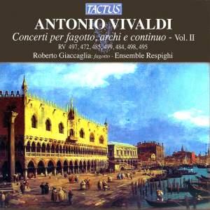Vivaldi: Concerti per fagotto, archi e continuo, Vol. 2