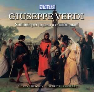 Verdi: Sinfonie per organo a 4 mani
