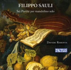 Filippo Sauli: Six Partitas for solo mandolin Product Image