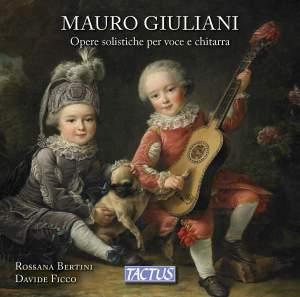 Mauro Giuliani: Opere solistiche per voce e chitarra Product Image