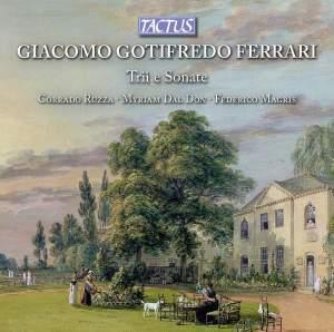 Giacomo Gotifredo Ferrari: Trios and Sonatas Product Image