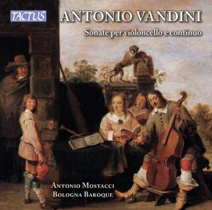 Vandini: Sonatas (6) for cello and continuo Product Image