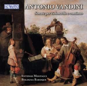 Antonio Vandini: Sonatas for Cello and Continuo Product Image