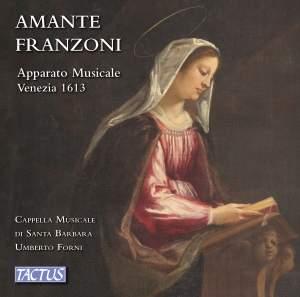 Amante Franzoni: Apparato Musicale Venezia 1613 Product Image
